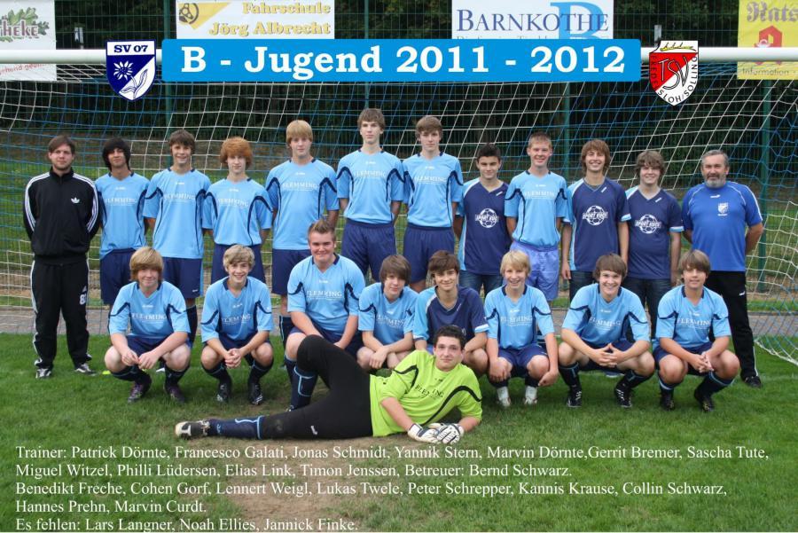 B-Jugend 2011 - 2012