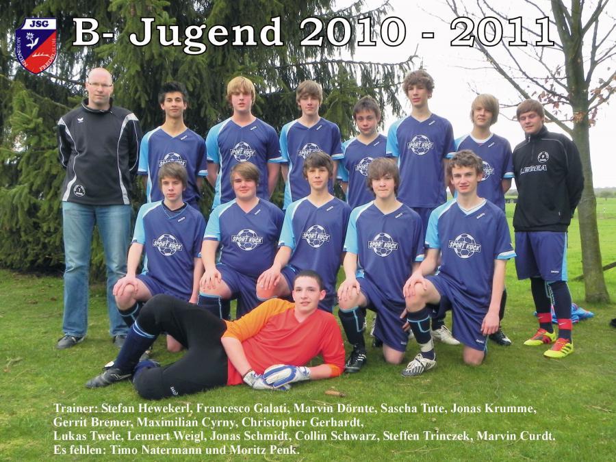 B-Jugend 2010 - 2011