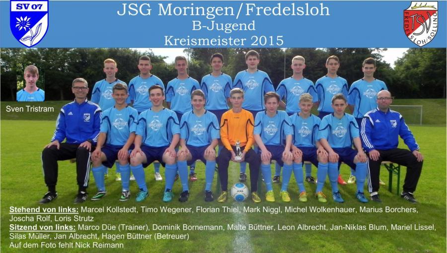 B-Jugend Kreismeister 2015