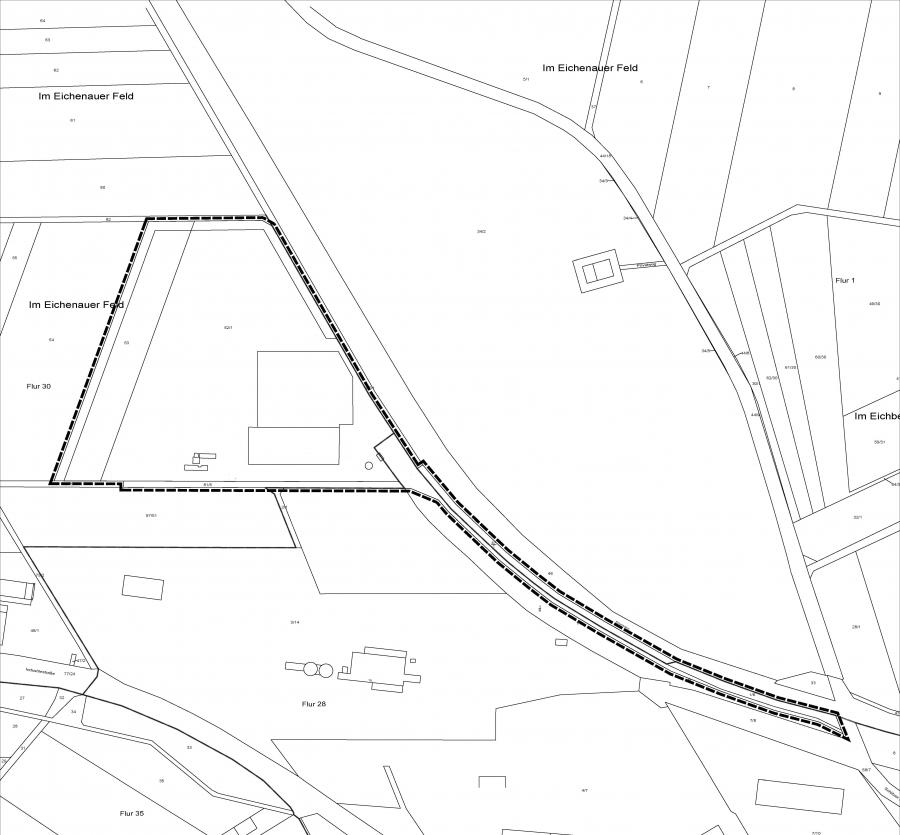 B-Plan Bauhof Kropp - Übersichtsplan