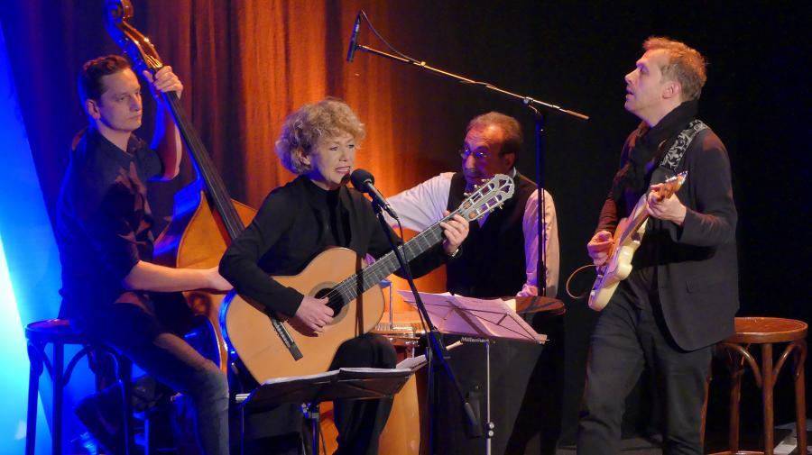 Barbara Thalheim und Band (Foto H.Schade)