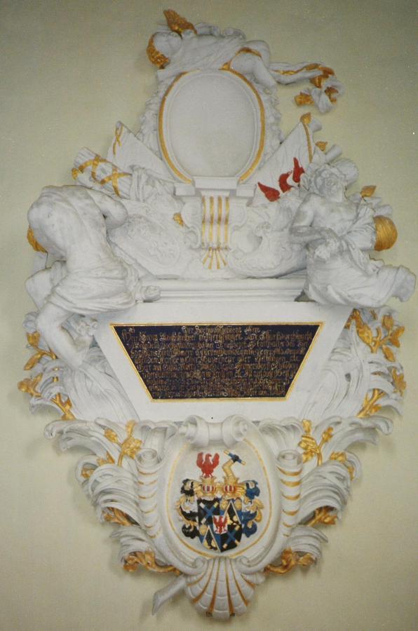 Epitaph des Feldmarschalls v. Derfflinger