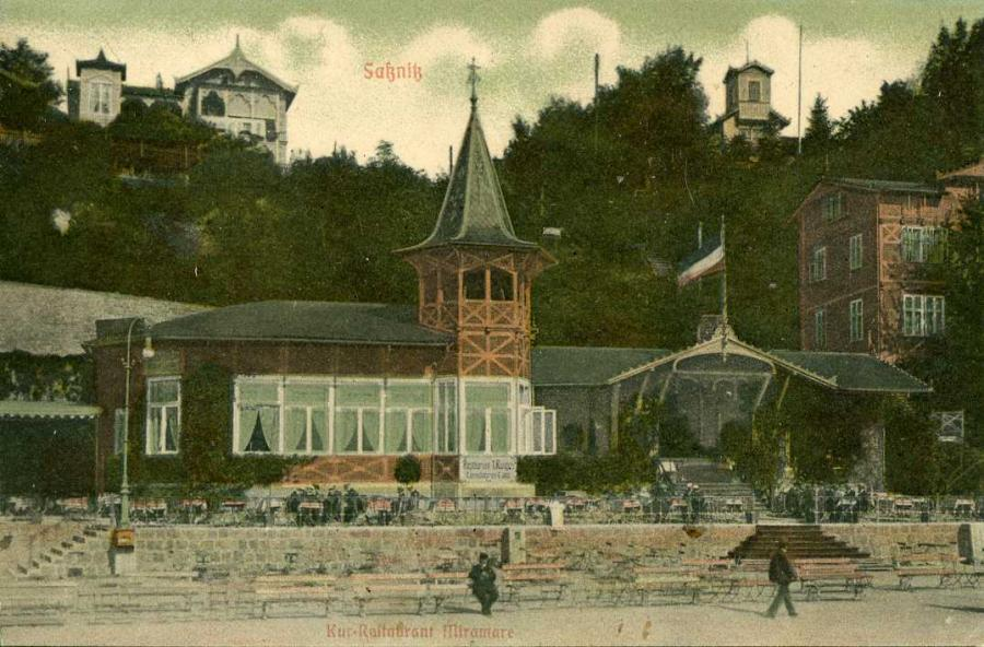 Sellin Kur-Restaurant Miramare 1914
