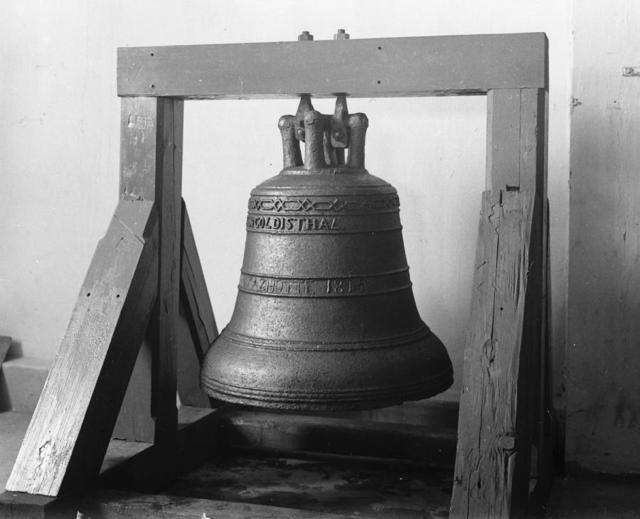 Gußeiserne Glocke von 1815