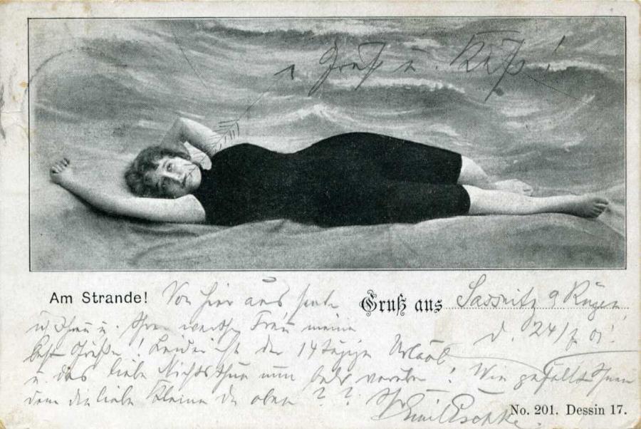Am Strande 1901