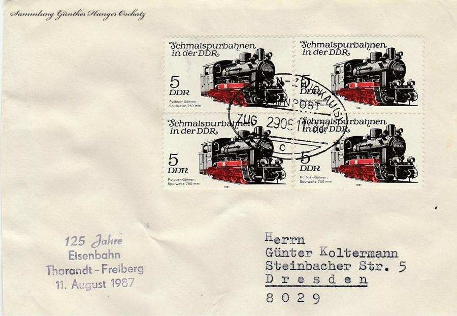 125 Jahre Eisenbahn Tharandt-Freiberg