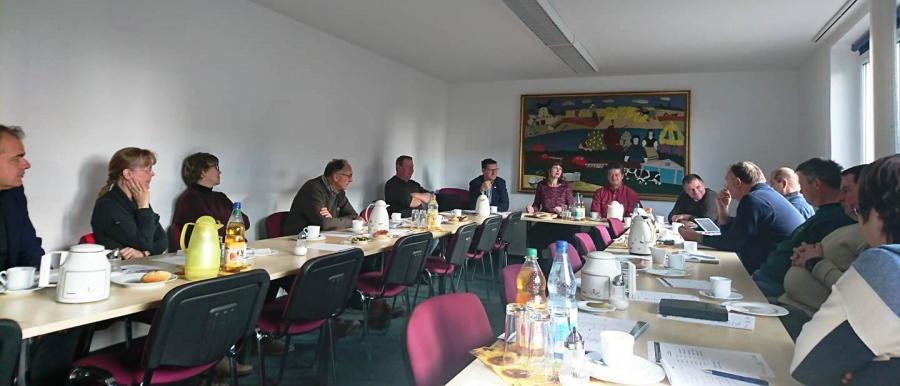 Vorstandssitzung am 29. November 2018
