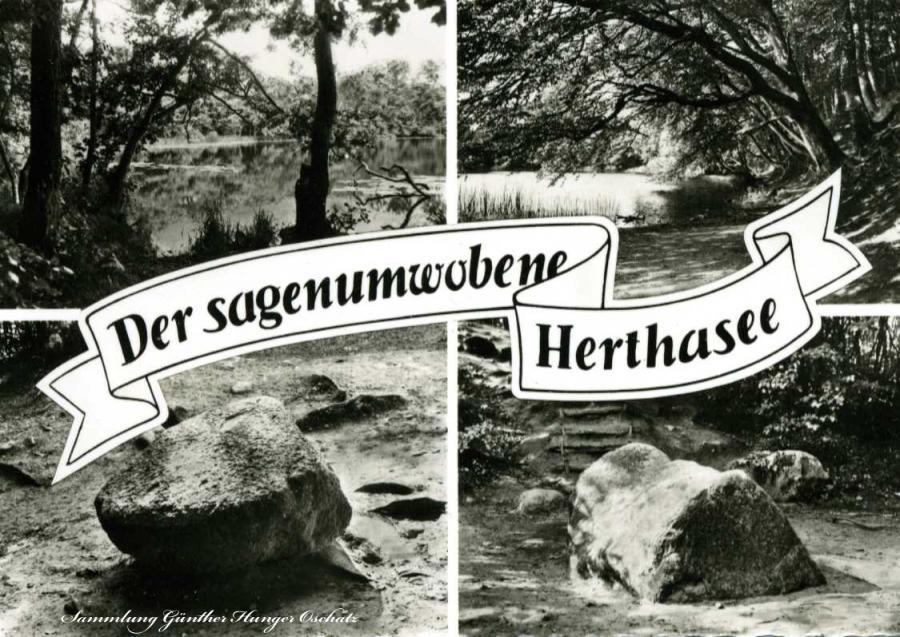 Der sagenumwobene Herthasee Insel Rügen