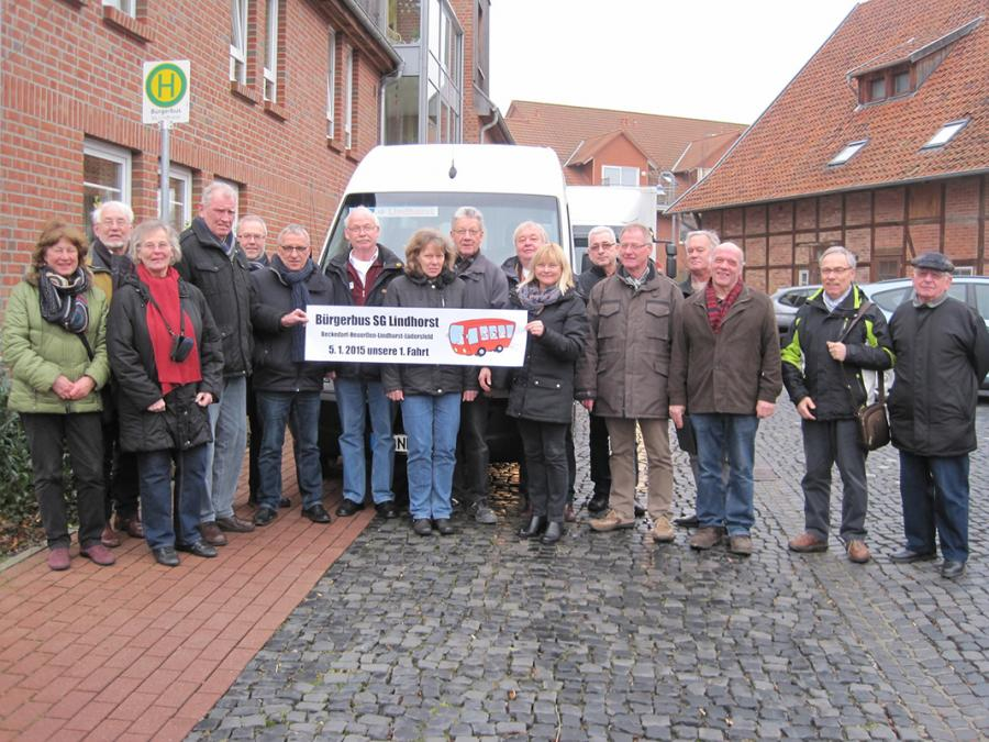Der Bürgerbus Lindhorst nimmt Fahrt auf