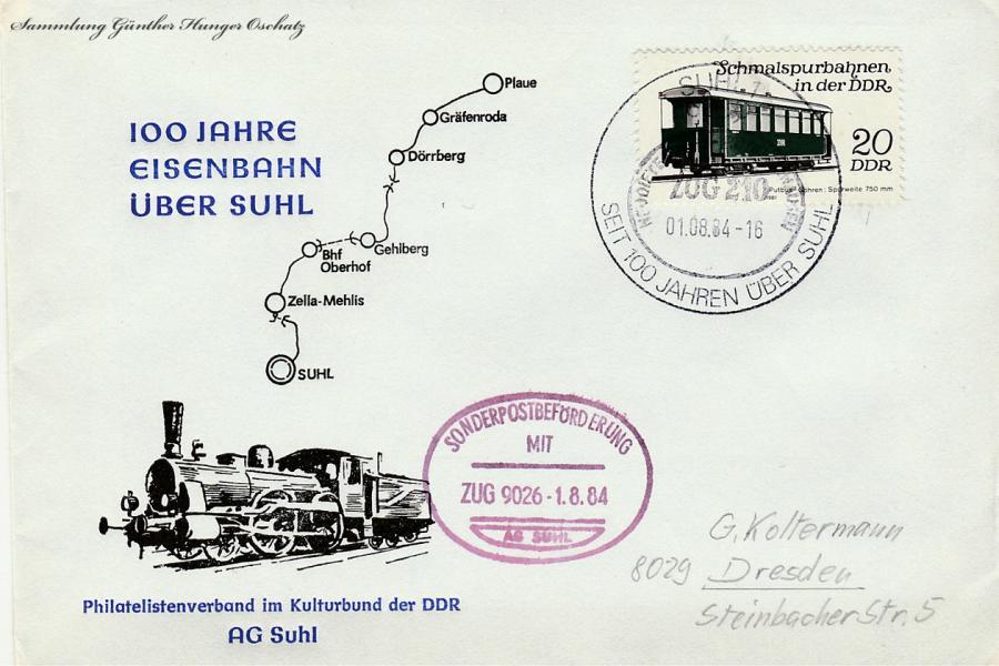 100 Jahre Eisenbahn über Suhl