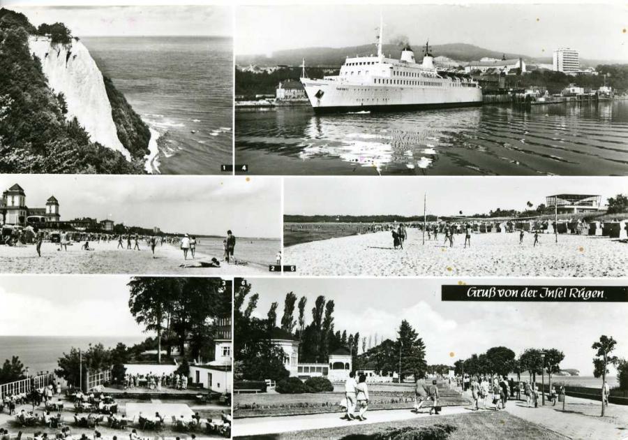 Gruß von der Insel Rügen1980
