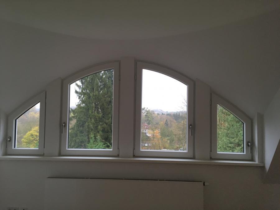 Rundbogenfenster Trockenbau