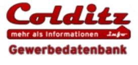 Colditz - Gewerbedatenbank - Logo