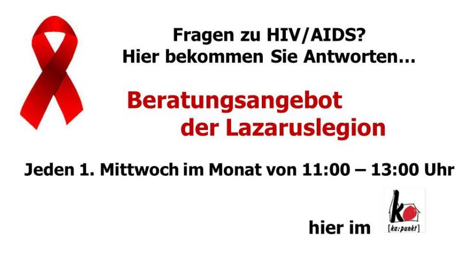 Lazaruslegion HIV Beratung