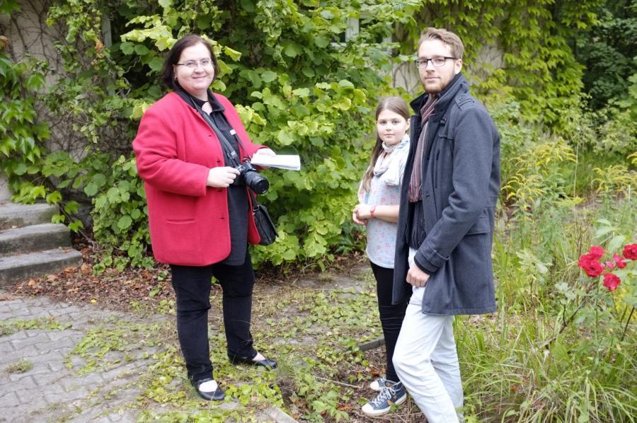 Morgenpost Journalistin mit Amalie und Leo
