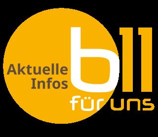 Logo B11 für uns
