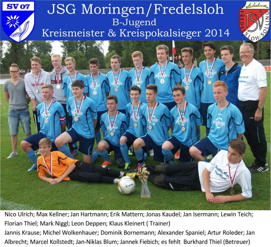 B-Jugend 2013-2014