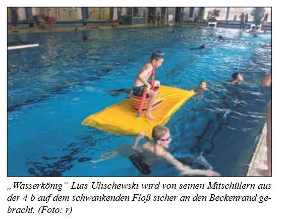 Schwimmaktionstag Bild Stadtteilzeitung April 2018