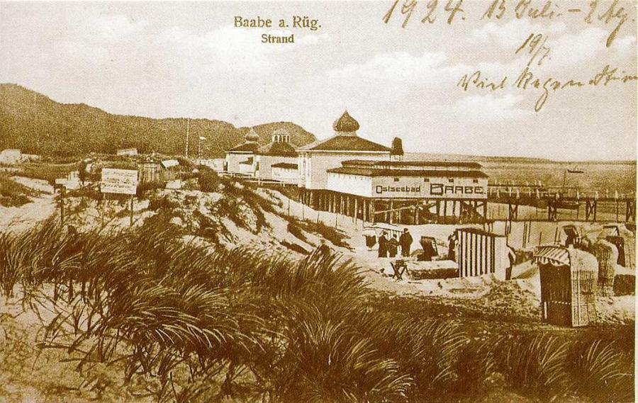 Baabe  a. Rügen Strand