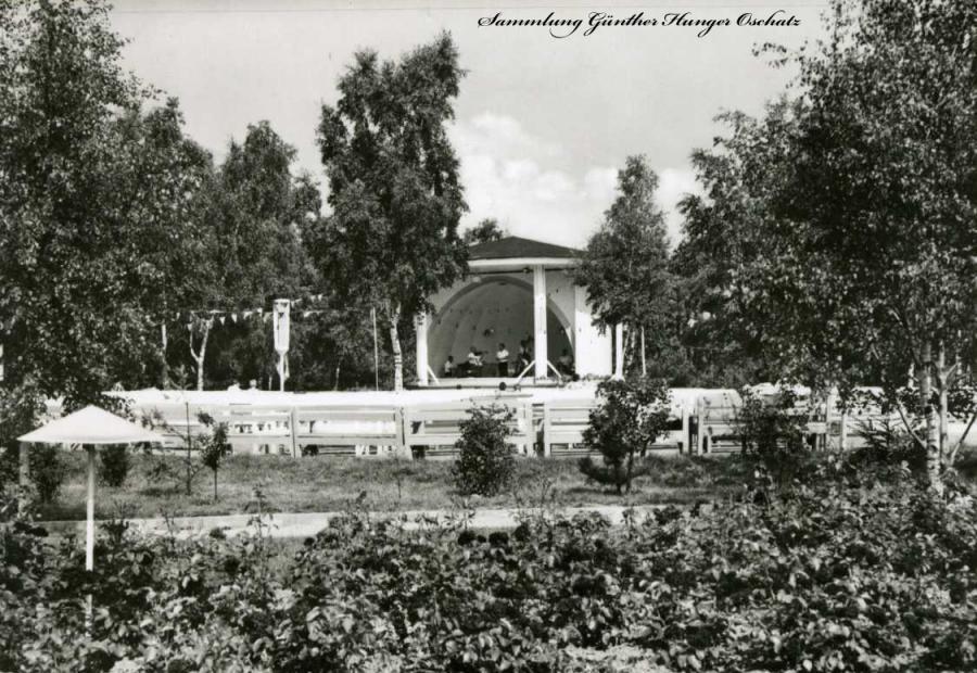 Baabe Kurpark mit Musikpavillon