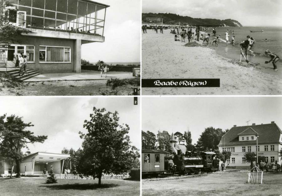 Baabe  Rügen 1978