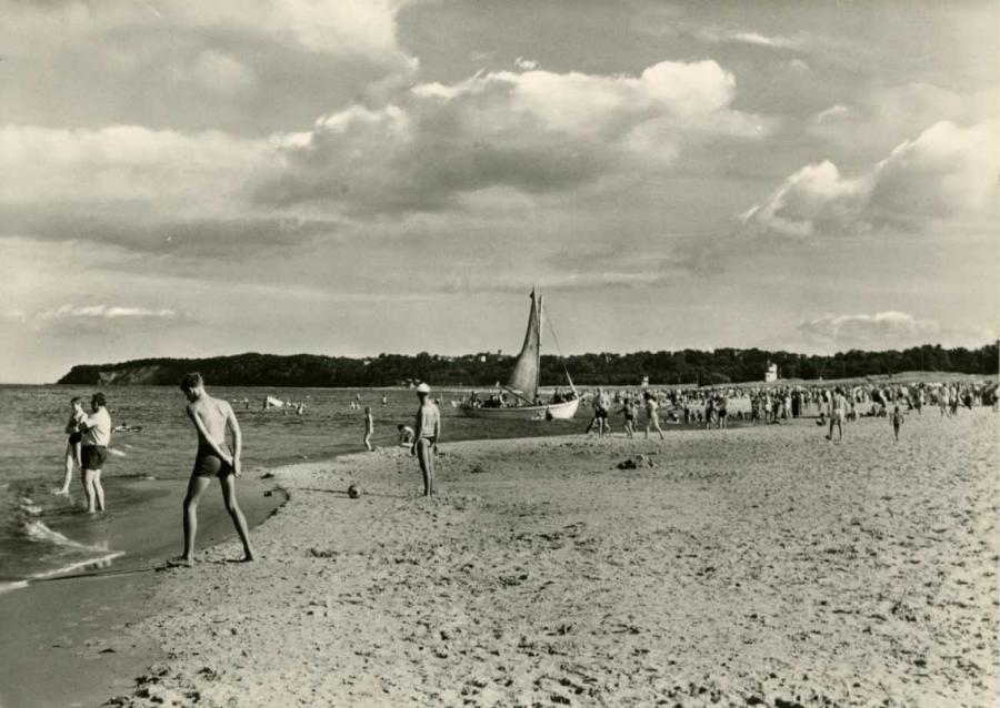 Baabe Strand 1969