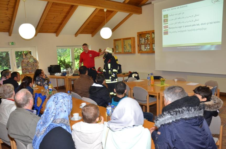 Infoveranstaltung für Flüchtlinge 2017