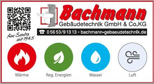 Bachmann Gebäudetechnik GmbH Co. KG