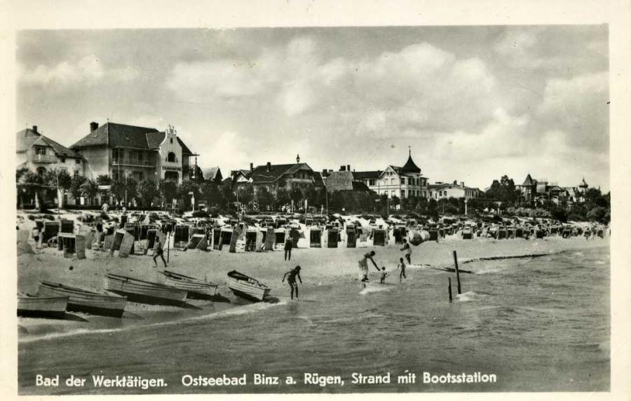 Bad der Werktätigen Ostseebad Binz
