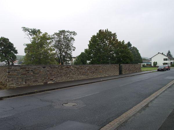 Bad Neuenahr Friedhof – Sanierung Natursteinmauer