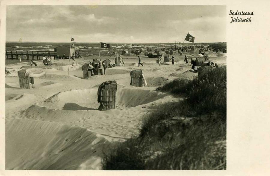 Badestrand Juliusruh 1939