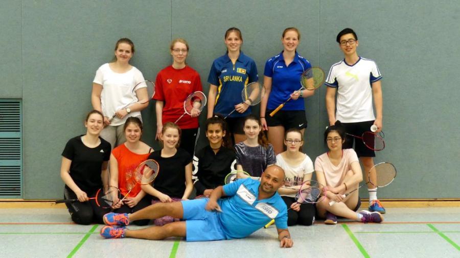 Badminton Jugend foto