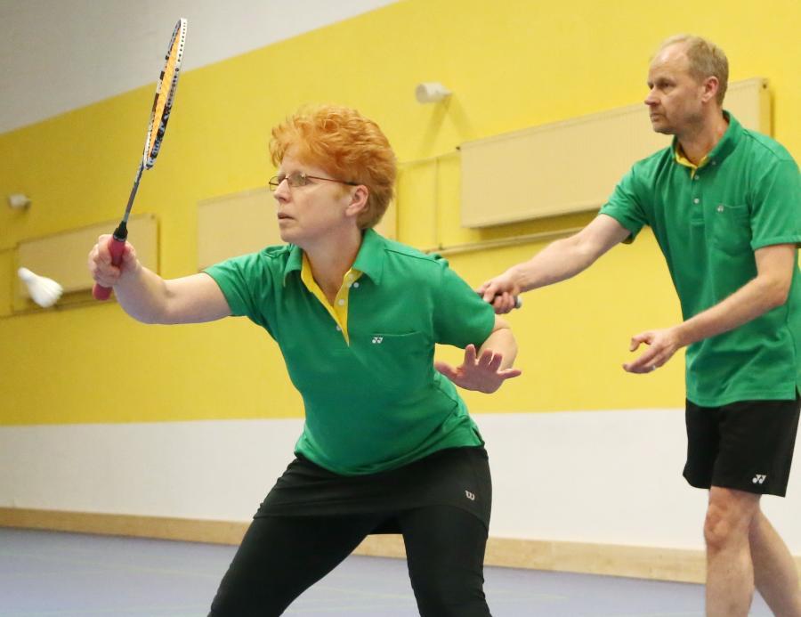 Badminton-Traing im B1 Sport & Freizeit