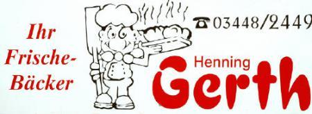 Sponsor Bäckerei Gerth