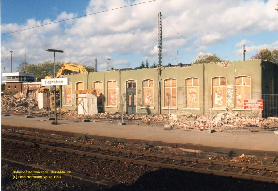 Bahnhof 1994, das war es