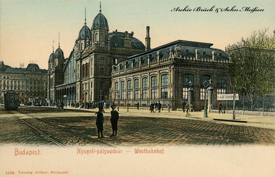 Budapest  Westbahnhof