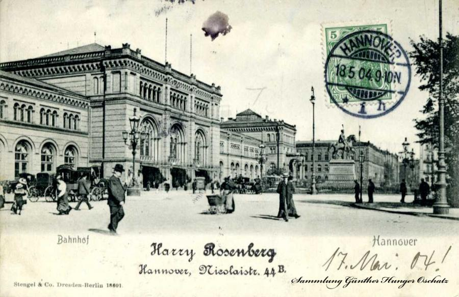 Bahnhof Hannover