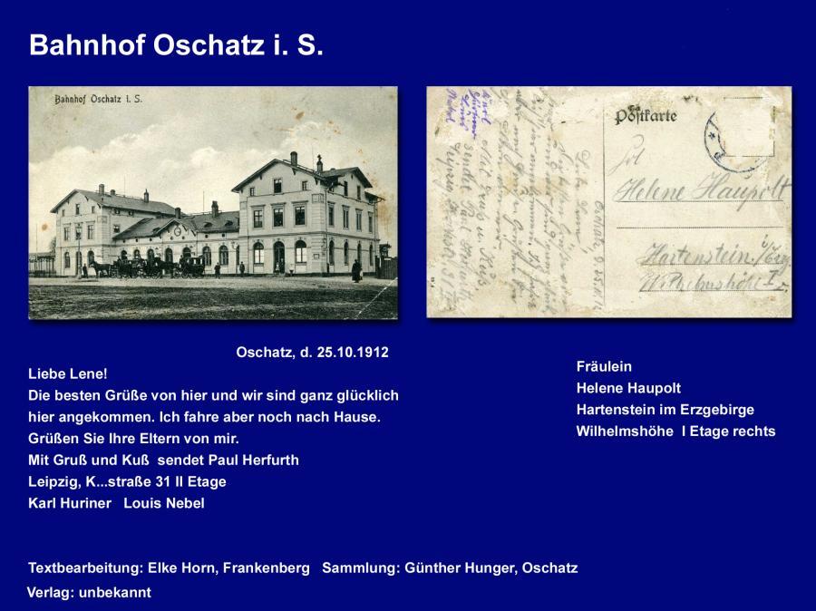 Bahnhof Oschatz i S