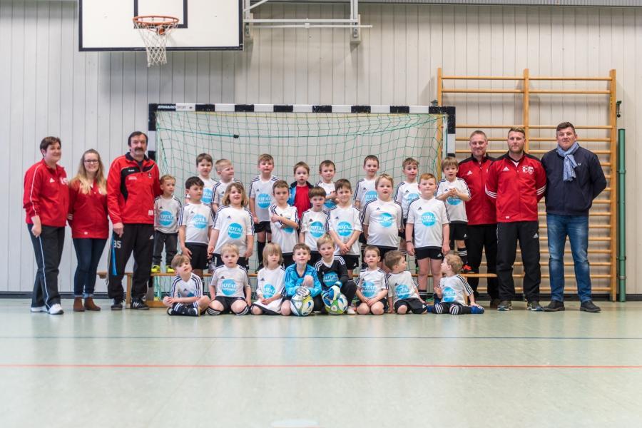 Die Bambinis des SV Großschönach in der Saison 2017/2018