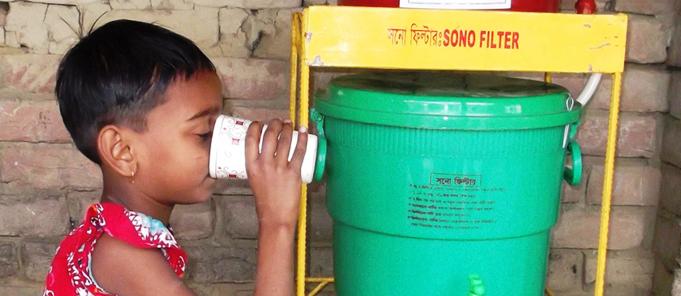 Bangladesh-arsenfreies Trinkwasser