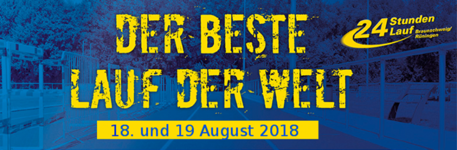 Banner Der beste lauf der Welt