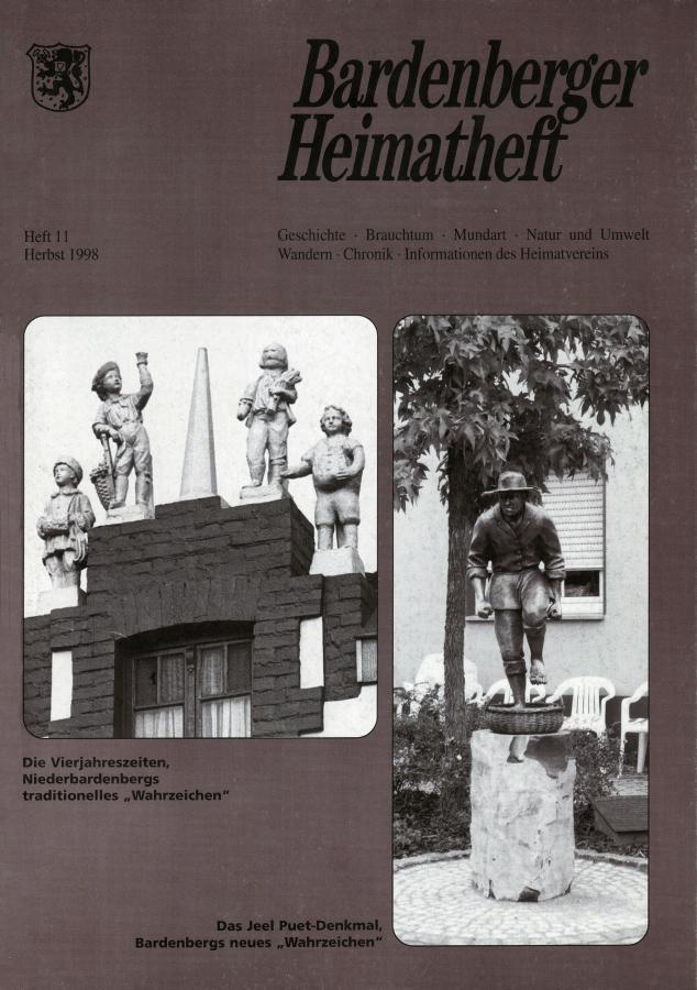 Titelseite 11/1998