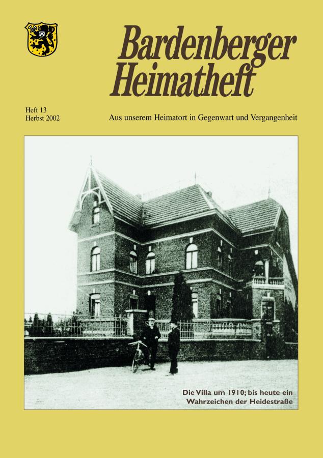 Titelseite 13/2002