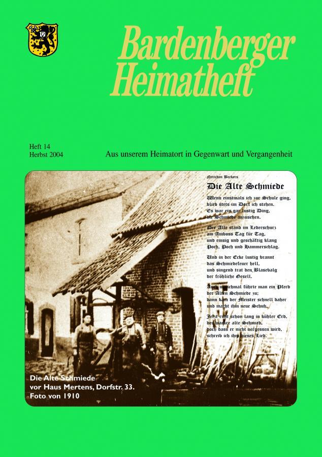 Titelseite 14/2004