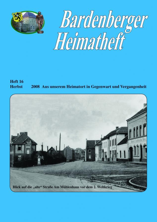 Titelseite Heft 16/2008