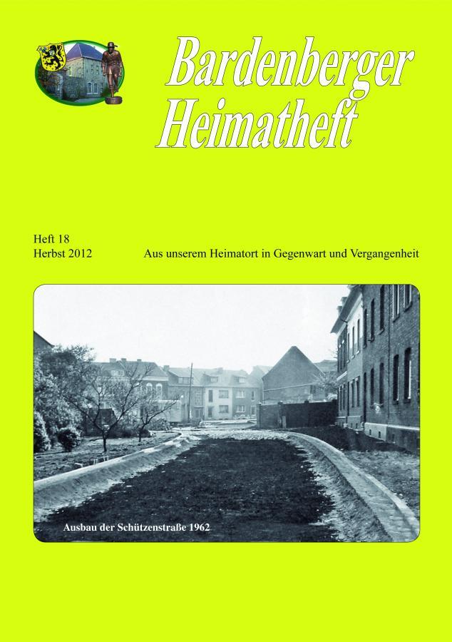 Titelseite Heft 18/2012