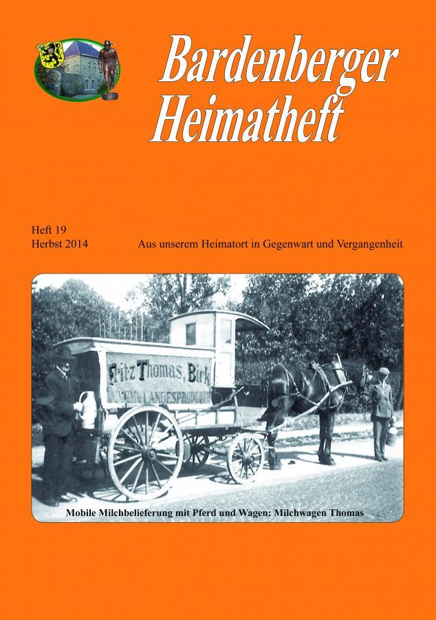Titelseite Heft 19/2014