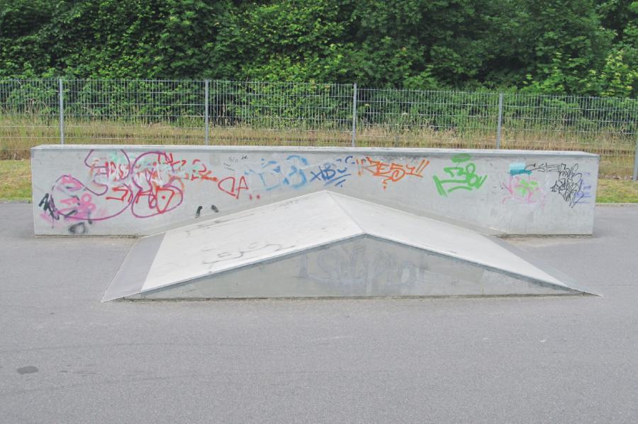 Basdorf Skateanlage Element1, Foto: Gemeinde Wandlitz
