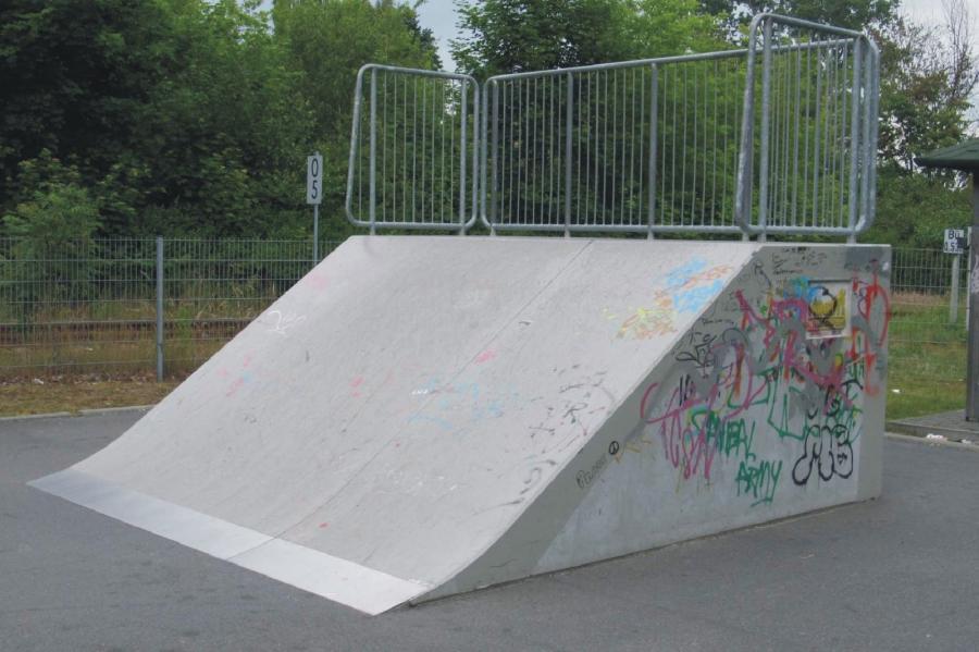 Basdorf Skateanlage Element2, Foto Gemeinde Wandlitz