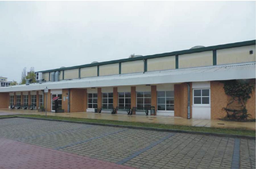 Basdorf Sport- und Mehrzweckhalle, Foto Gemeinde Wandlitz